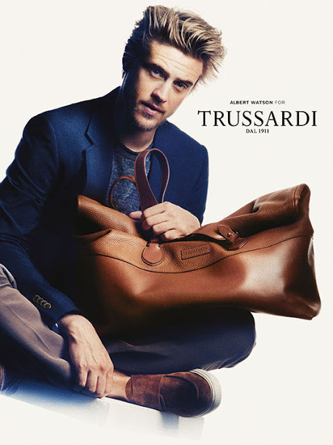 Amber Anderson & Boyd Holbrook By Albert Watson For Trussardi SS 2013 Ad Campaign 3