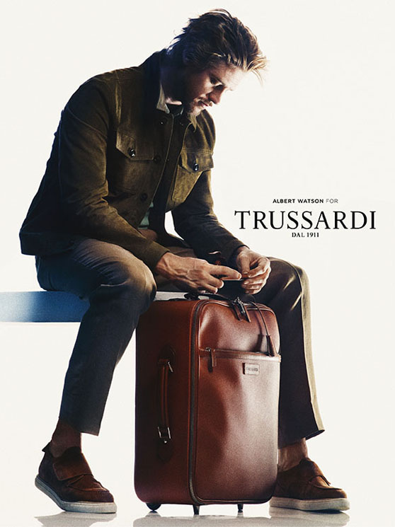 Amber Anderson & Boyd Holbrook By Albert Watson For Trussardi SS 2013 Ad Campaign 6