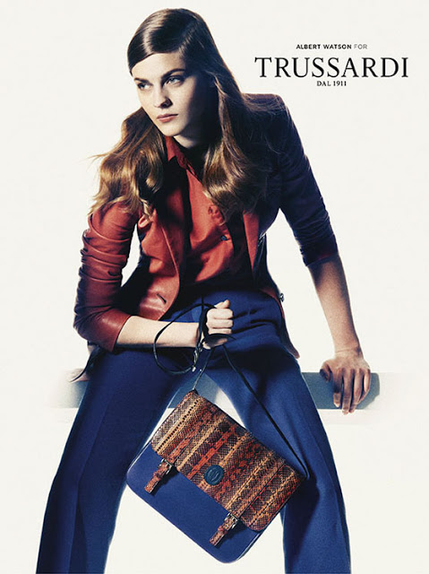 Amber Anderson & Boyd Holbrook By Albert Watson For Trussardi SS 2013 Ad Campaign 4
