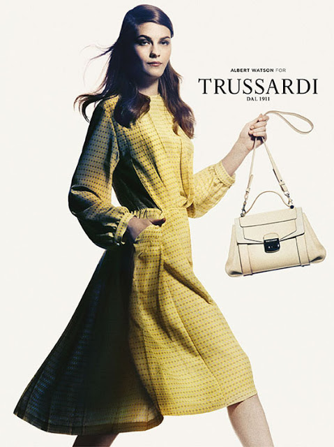 Amber Anderson & Boyd Holbrook By Albert Watson For Trussardi SS 2013 Ad Campaign 2